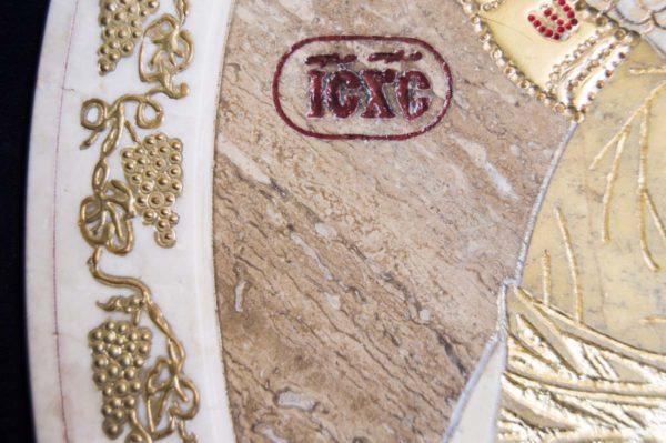Икона Жировицкой (Жировичской) Божией Матери № п-2 из мрамора, камня, изображение, фото 10
