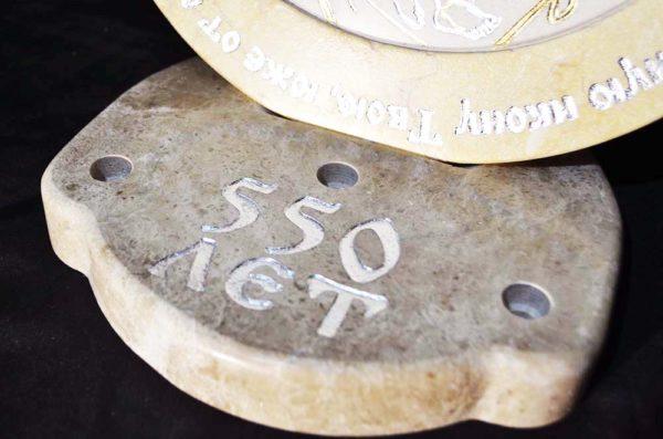 Икона Жировицкой (Жировичской) Божией Матери № 03 из мрамора, камня, изображение, фото 4