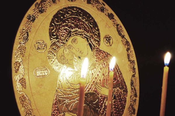 Икона Жировицкой (Жировичской) Божией Матери № 04 из мрамора, камня, изображение, фото 3