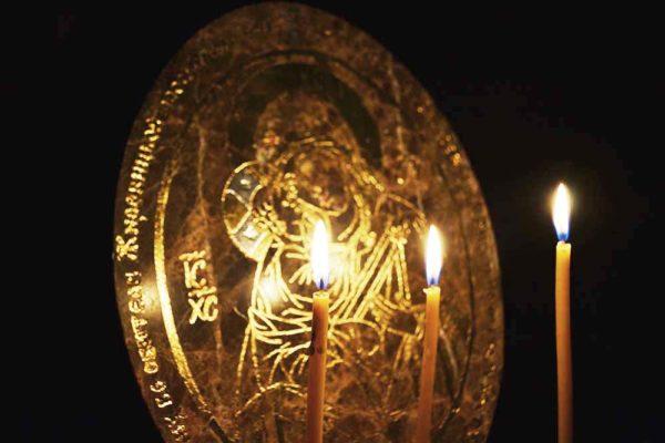 Икона Жировицкой (Жировичской) Божией Матери № 002 из мрамора, камня, изображение, фото 2