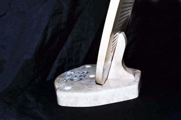 Икона Жировицкой (Жировичской) Божией Матери № 11 из мрамора, камня, изображение, фото 3