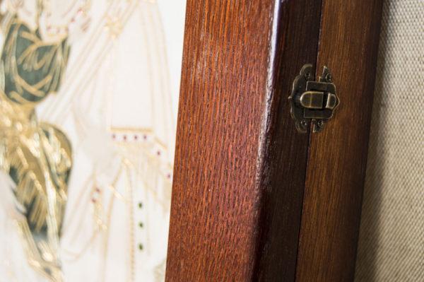 Икона Жировицкой (Жировичской) Божией Матери № п-25 из мрамора, камня, изображение, фото 13