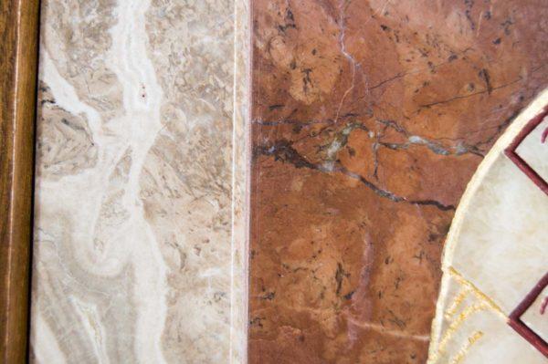 Икона Николая Чудотворца (Угодника) инд.№ 14 из мрамора, камня, изображение, фото 7