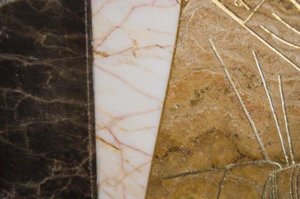 Икона Николая Чудотворца (Угодника) инд.№ 18 из мрамора, камня, изображение, фото 1