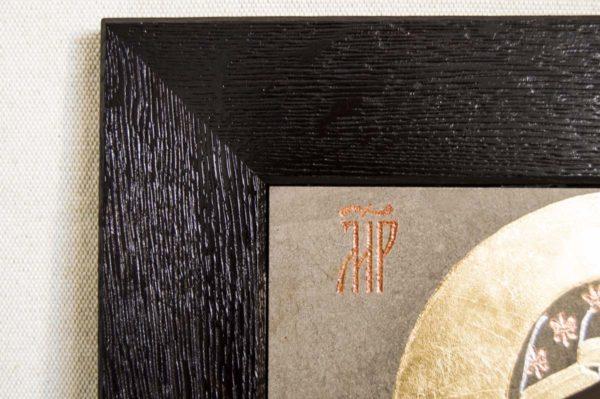 Икона Ченстоховской Божией Матери № 01 из мрамора, каталог икон, изображение, фото 4