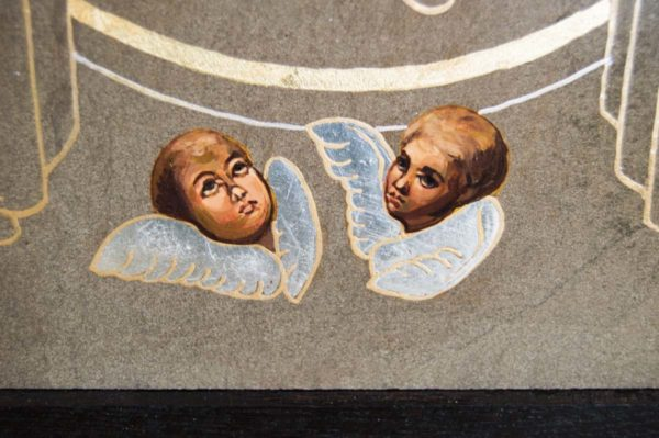 Икона Свенской (Печерской) Божией Матери № 1 из мрамора, камня, изображение, фото 2