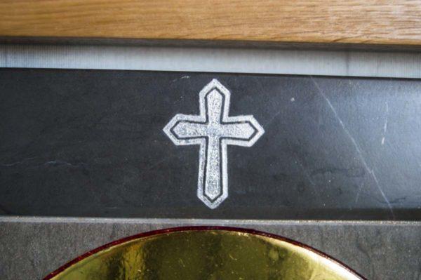 Икона Ченстоховской Божией Матери № 1-12,1 из мрамора, каталог икон, изображение, фото 1