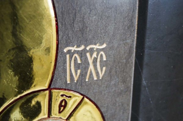 Икона Ченстоховской Божией Матери № 1-12,1 из мрамора, каталог икон, изображение, фото 9