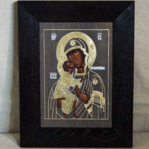 Икона Феодоровской Божией Матери № 2 из мрамора, камня, изображение, фото 3