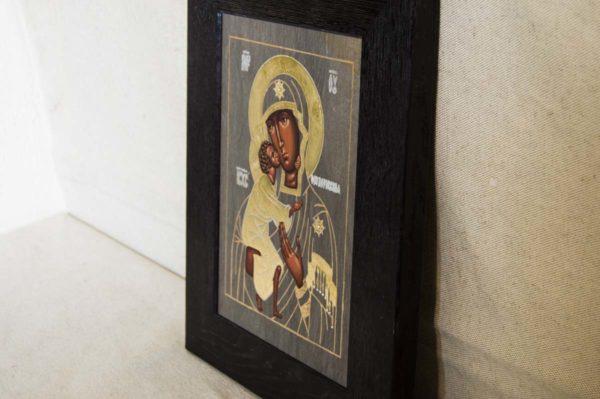 Икона Феодоровской Божией Матери № 2 из мрамора, камня, изображение, фото 5
