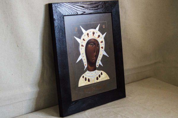Икона Филермской Божией Матери № 1 из мрамора, камня, изображение, фото 2