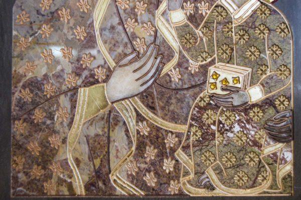 Икона Ченстоховской Божией Матери № 1-12,2 из мрамора, каталог икон, изображение, фото 6