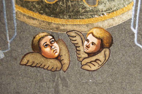 Икона Свенской (Печерской) Божией Матери № 2 из мрамора, камня, изображение, фото 1