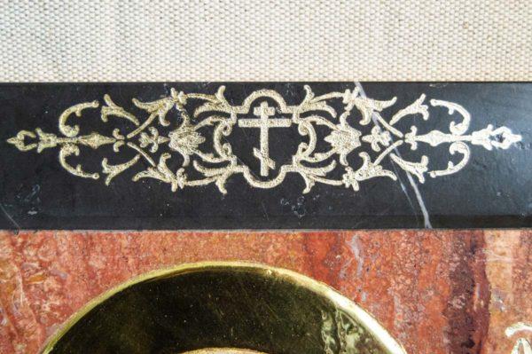 Икона Стокгольмской Божией Матери № 1-12-2 из мрамора, камня, изображение, фото 1