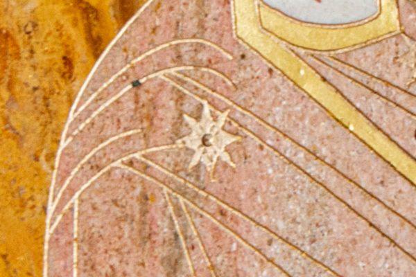 Икона Стокгольмской Божией Матери № 2-12-4 из мрамора, камня, изображение, фото 4