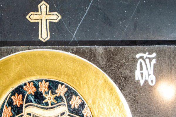 Икона Ченстоховской Божией Матери № 1-12,4 из мрамора, каталог икон, изображение, фото 6