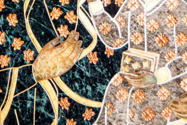 Икона Ченстоховской Божией Матери № 1-12,4 из мрамора, каталог икон, изображение, фото 8
