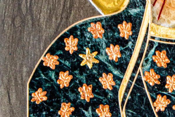 Икона Ченстоховской Божией Матери № 1-12,4 из мрамора, каталог икон, изображение, фото 9