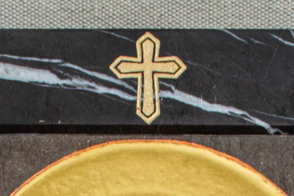 Икона Ченстоховской Божией Матери № 1-12,9 из мрамора, каталог икон, изображение, фото 6