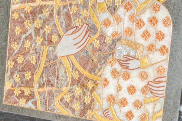 Икона Ченстоховской Божией Матери № 1-12,9 из мрамора, каталог икон, изображение, фото 10