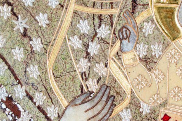 Икона Ченстоховской Божией Матери № 1-12,7 из мрамора, каталог икон, изображение, фото 6