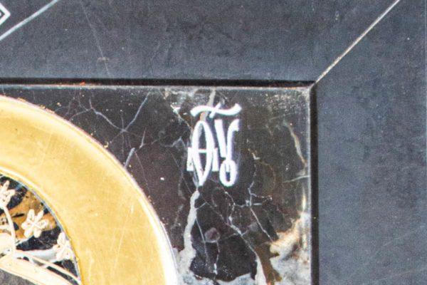 Икона Ченстоховской Божией Матери № 1-12,10 из мрамора, каталог икон, изображение, фото 4
