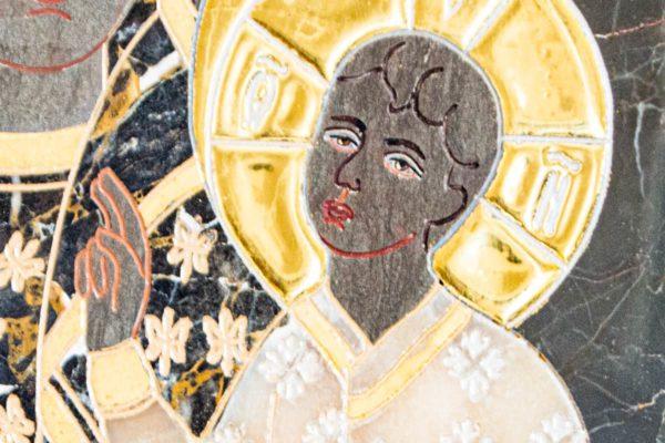 Икона Ченстоховской Божией Матери № 1-12,10 из мрамора, каталог икон, изображение, фото 7