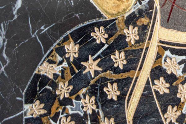 Икона Ченстоховской Божией Матери № 1-12,10 из мрамора, каталог икон, изображение, фото 8