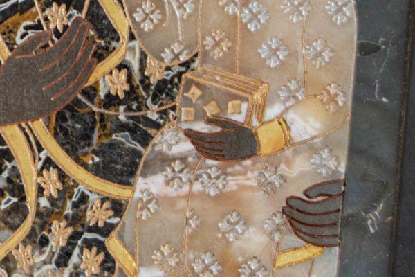 Икона Ченстоховской Божией Матери № 1-12,10 из мрамора, каталог икон, изображение, фото 10