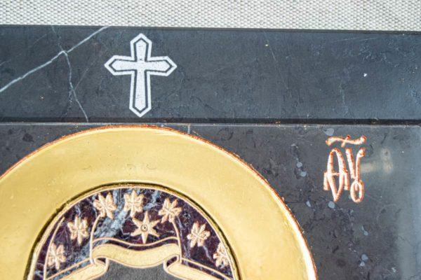Икона Ченстоховской Божией Матери № 1-12,11 из мрамора, каталог икон, изображение, фото 9