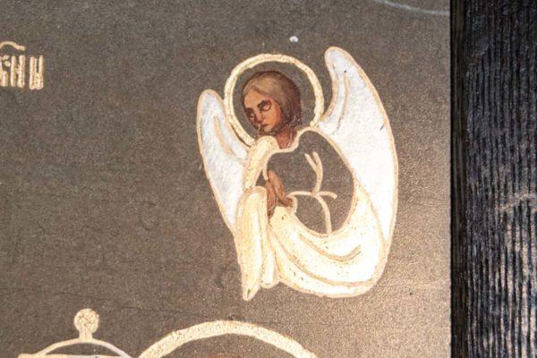 Икона Свенской (Печерской) Божией Матери № 3 из мрамора, камня, изображение, фото 3