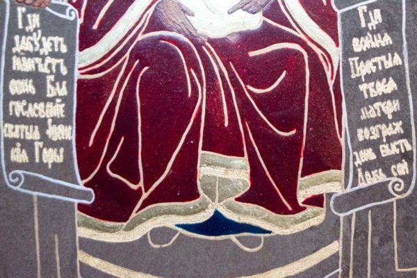 Икона Свенской (Печерской) Божией Матери № 3 из мрамора, камня, изображение, фото 2
