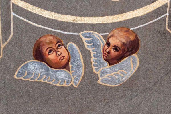 Икона Свенской (Печерской) Божией Матери № 3 из мрамора, камня, изображение, фото 1