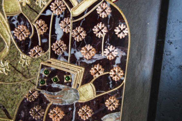 Икона Ченстоховской Божией Матери № 1-12,3 из мрамора, каталог икон, изображение, фото 8