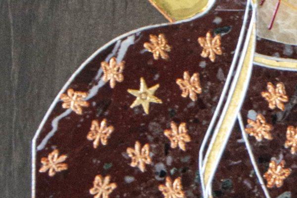 Икона Ченстоховской Божией Матери № 1-12,6 из мрамора, каталог икон, изображение, фото 3