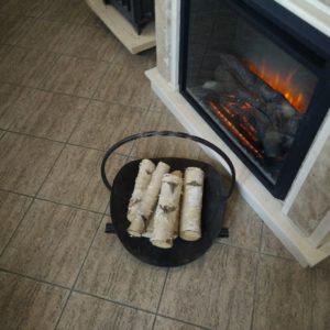 Дровница для камина (печи), каталог каминов, изображение, фото 1