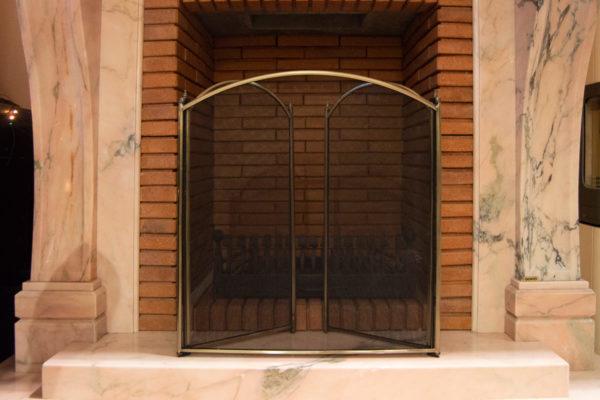 Защитный экран № 1 для камина (печи), каталог каминов, изображение, фото 6