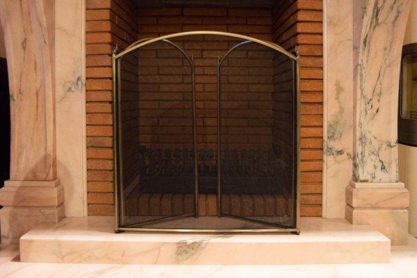 Защитный экран № 1 для камина (печи), каталог каминов, изображение, фото 9