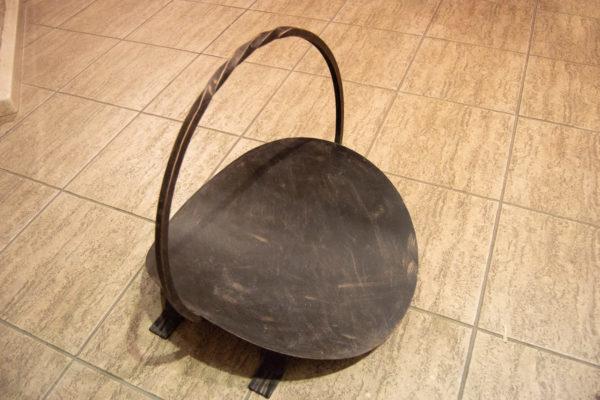 Дровница для камина (печи), каталог каминов, изображение, фото 7