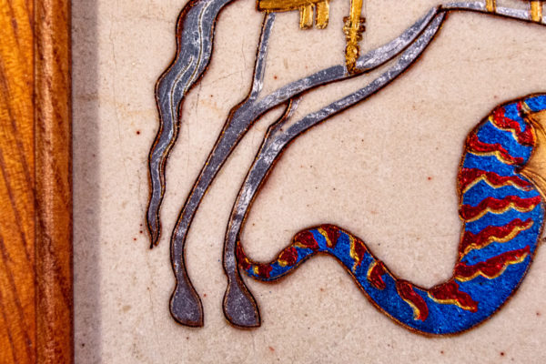 Икона Святого Георгия Победоносца № 01 из мрамора на коне, каталог, изображение, фото 6