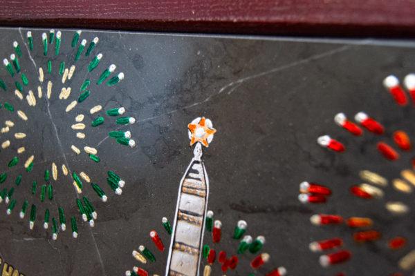 Сувенир (подарок) из натурального камня Площадь победы в Минске № 3, изображение, фото 6