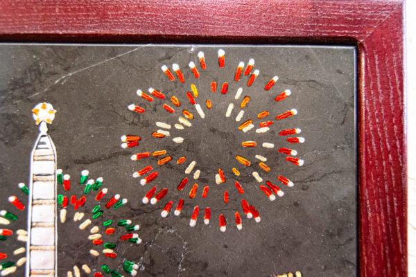 Сувенир (подарок) из натурального камня Площадь победы в Минске № 3, изображение, фото 9