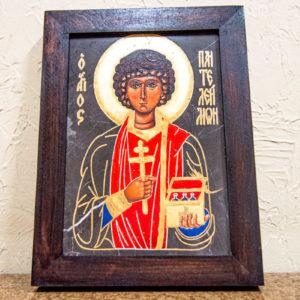 Икона Святой великомученицы Святого Пантелеймона № 1 из мрамора, камня, изображение, фото 5