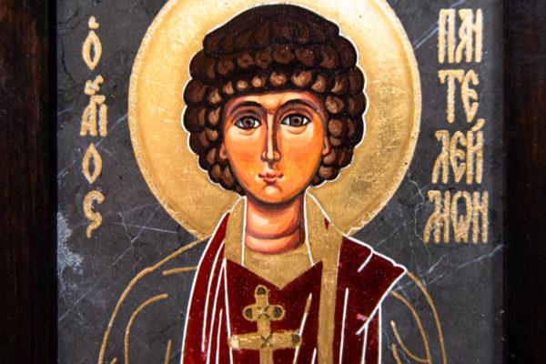 Икона Святой великомученицы Святого Пантелеймона № 1 из мрамора, камня, изображение, фото 3