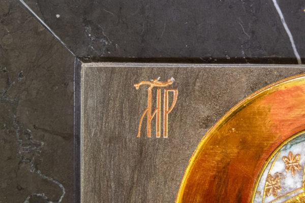 Икона Ченстоховской Божией Матери № 1-12,8 из мрамора, каталог икон, изображение, фото 10