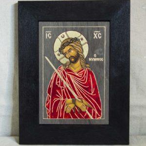 Икона Царь Иудейский № 5-1 из камня, интернет магазин , фото 1