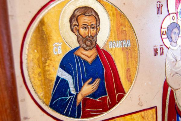 Икона Купятицкой Божией Матери из камня храмовая, аналойная икона, изображение, фото 4