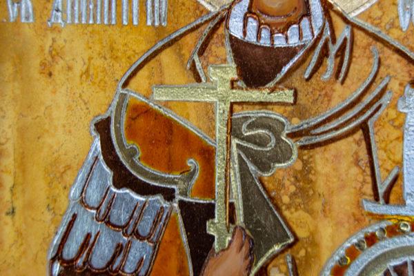 Икона Купятицкой Божией Матери из камня храмовая, аналойная икона, изображение, фото 15