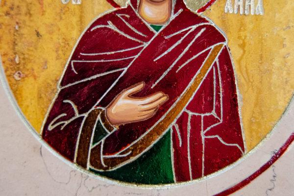 Икона Купятицкой Божией Матери № 02 из камня для храма, на аналой, изображение, фото 14