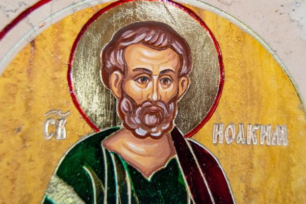 Икона Купятицкой Божией Матери № 02 из камня для храма, на аналой, изображение, фото 15